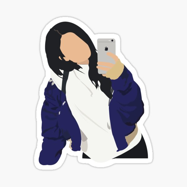 Kylie Selfie Sticker