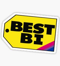 Bisexuality Best Bi Bisexual lgbt queer gay!!! Sticker