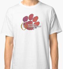Clemson Tigers 2017 National Championship  Classic T-Shirt