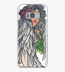 Neotraditional guardian angel Samsung Galaxy Case/Skin