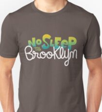 Camiseta unisex No dormir hasta Brooklyn Camiseta