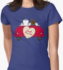 Just Married Newlyweds Driving T-Shirt