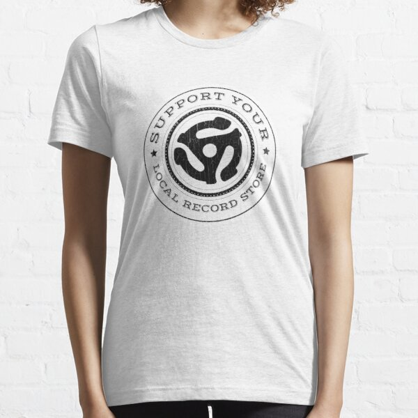 BESTSELLER: Support Your Local Record Store Essential T-Shirt