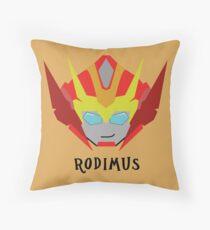 Till All - Rodimus (Hot Rod) Throw Pillow
