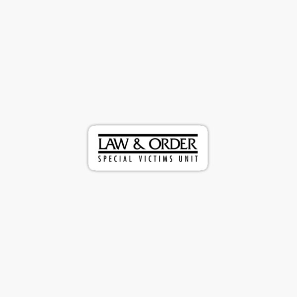 Law and Order: SVU Sticker