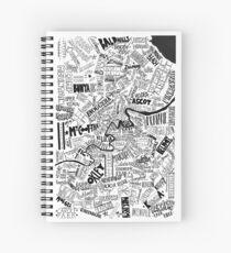 Brisbane Suburbs Spiral Notebook