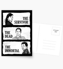 Torchwood - The Survivor, The Dead, The Immortal Postcards