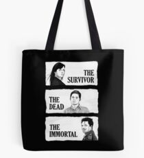 Torchwood - The Survivor, The Dead, The Immortal Tote Bag