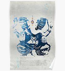 GANESHA art print Poster