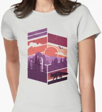 Vanishing Point Women's Fitted T-Shirt