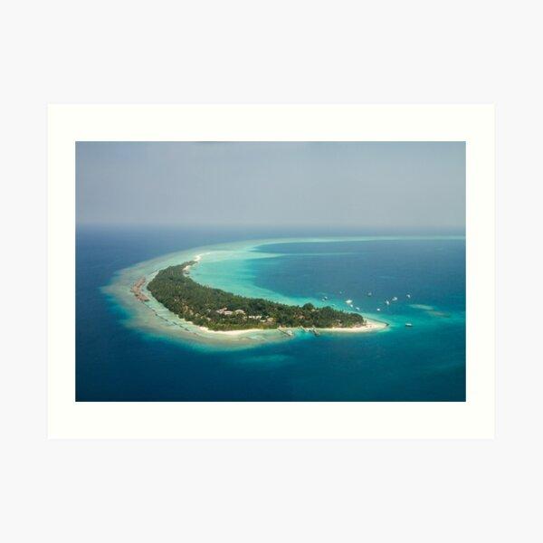 Kuramathi - Maldives Art Print