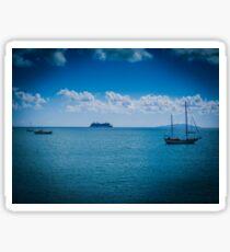 Scenic Boats Sticker
