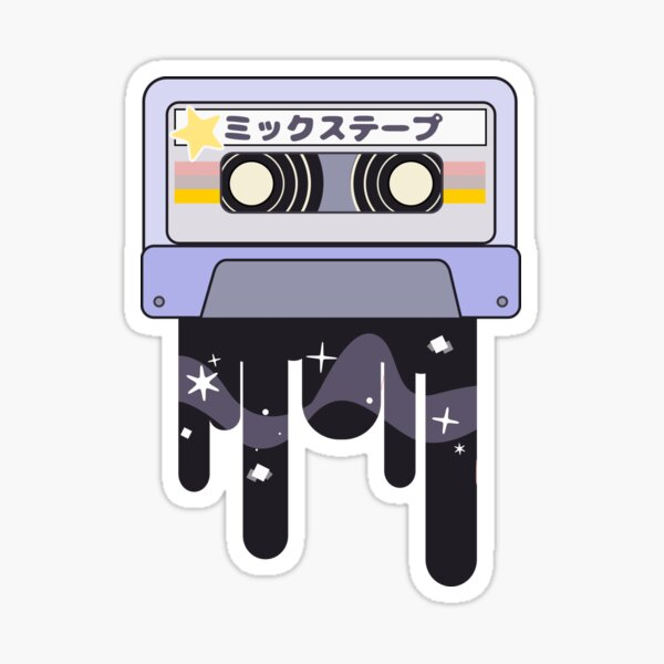 Mixtape by Indigo East Sticker