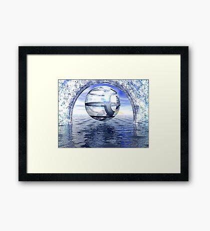 Ecce Mundus Framed Print