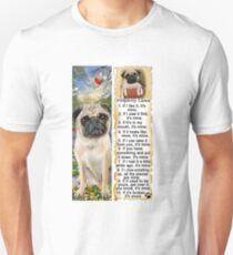 PUG Property Laws Dog RULES T-Shirt