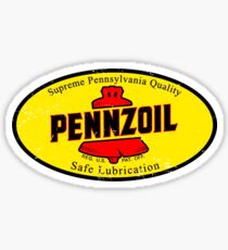 Vintage Pennzoil Oil Sticker