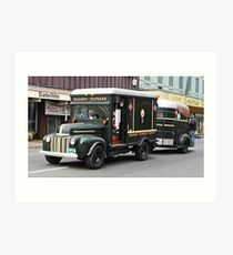 1946 Ford Commercial Delivery Art Print