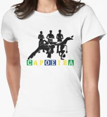 Capoeira - Black Womens Fitted T-Shirt