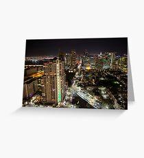 San Diego City Landscape Greeting Card