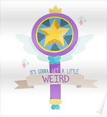 Star Butterfly's Wand Poster