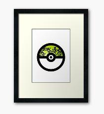 I Choose Grass Type Framed Print