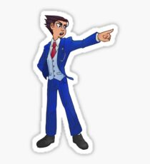 Phoenix Wright - Objection!! Sticker