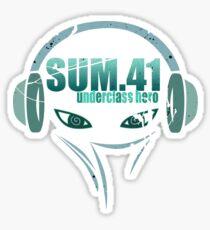 sum41 tour date time 2017 am1 Sticker