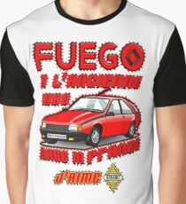 Fuego Renault 1980 Graphic T-Shirt