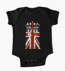 Union Jack Police Call Box. Kids Clothes