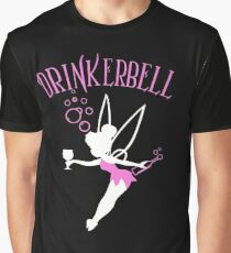 Drinkerbell pink color Graphic T-Shirt