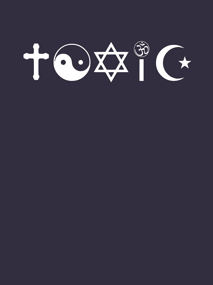 Religion Is Toxic Freethinker | Unisex T-Shirt