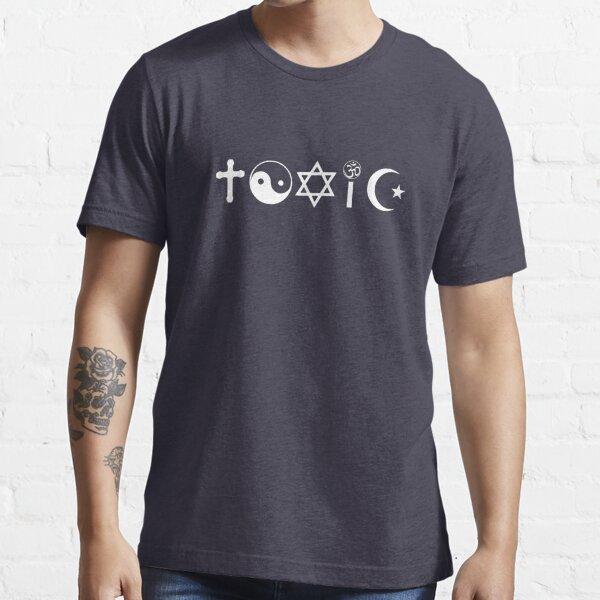 Religion Is Toxic Freethinker Essential T-Shirt