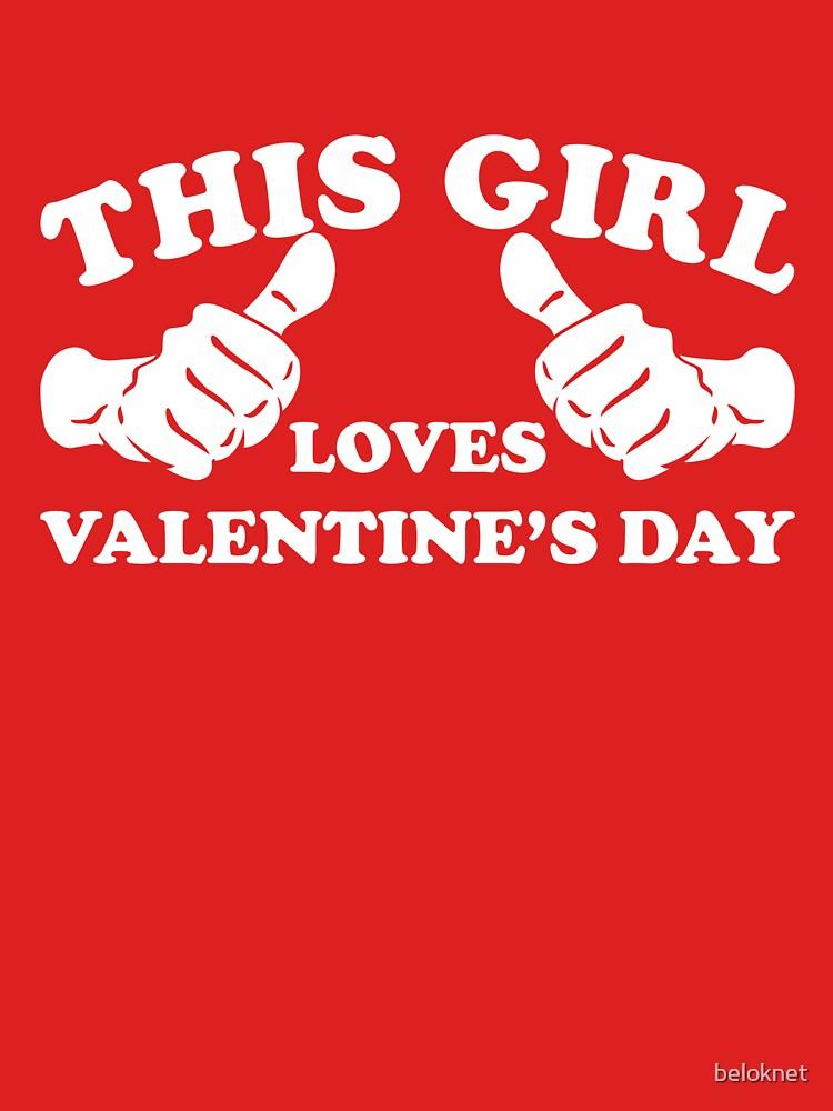 «Cette fille aime la Saint-Valentin» par beloknet
