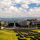 Eduardo VII Park in Portugal by Edwin Davis