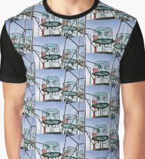 Lobster Pots at Lyme Dorset UK Graphic T-Shirt