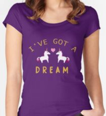 Ive Got a Dream  Women's Fitted Scoop T-Shirt