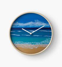 'Ashleigh's Beachside' by Ashleigh Scriven (2017) Clock