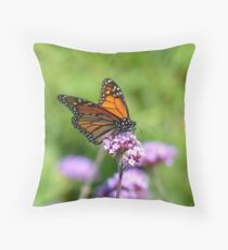 Autumn Beauty! - Monarch Butterfly - Otago - NZ Throw Pillow