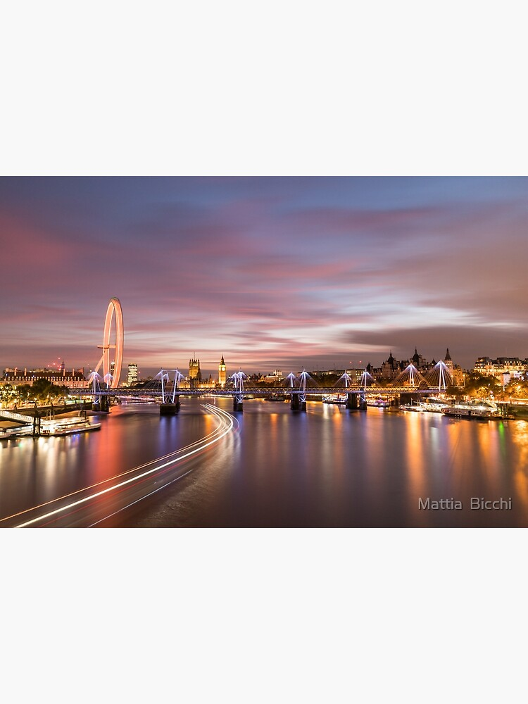 Sunset on the Thames - London by mattside12