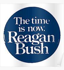 REAGAN/BUSH Poster