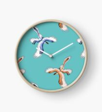 Microraptor Gui Pair (Teal) Clock