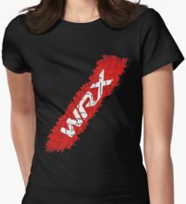 WRX Subaru Tire Womens Fitted T-Shirt