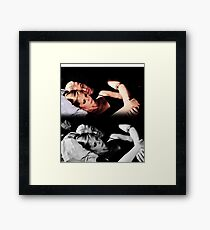 Buffy and Spike - Buffy the Vampire Slayer Framed Print