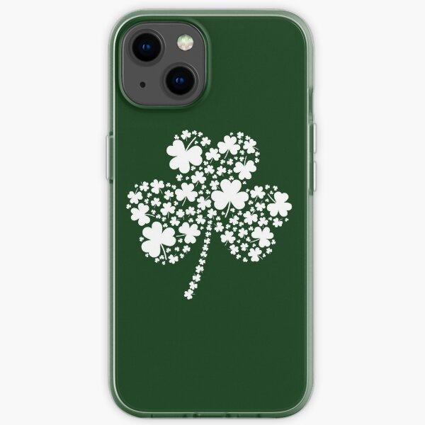 St Patrick's Day Irish Shamrock Clover iPhone Soft Case