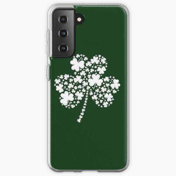 St Patrick's Day Irish Shamrock Clover Samsung Galaxy Soft Case