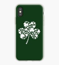 St Patrick's Day Irish Shamrock Clover iPhone Case