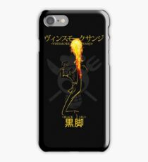 BLACK LEG iPhone Case/Skin