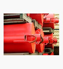Red Buoys  Photographic Print