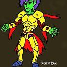 Howl-O-Ween Character by Riekert Maritz (Krog)