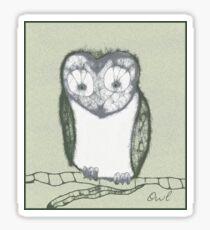 Scribbler-Owl Sticker